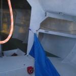 Mini Transat 713 - cramped interior!