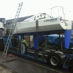 Mini Transat 713 - shipment from Holland to the UK