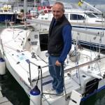Richard on His Boat 2